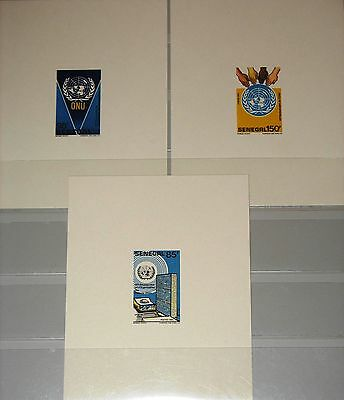 SENEGAL 1987 930-32 731-33 DELUXE Sheets 40th Ann UN UNO United Nations MNH