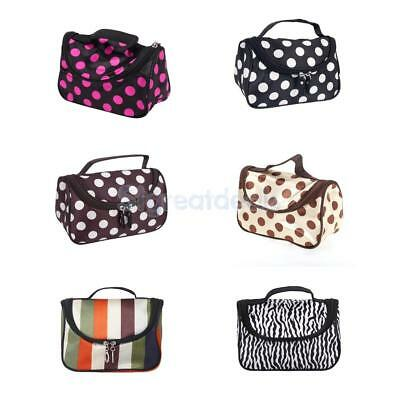 Cosmetic Make Up Jewelry Bag Hand Case Travel Toiletry Wash Beauty Ladies Women