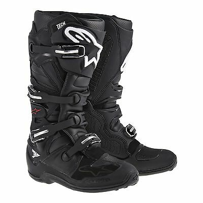 Botas Alpinestars Tech 7 Boot Motocross / Offroad Black