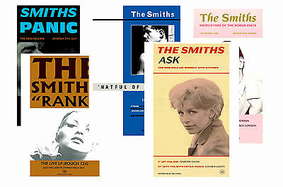 The Smiths - Set Of 5 - A4 Poster Prints # 3