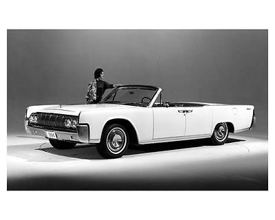 1964 Lincoln Continental Coupe Factory Photo c9305