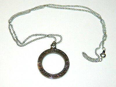 Stargate Atlantis Star Gate Metal Necklace W Chain Mailed From Usa