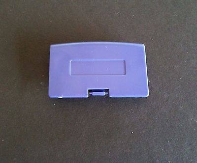 5 Purple Game Boy Advance Replacement Battery Cover Lid Door For System Console