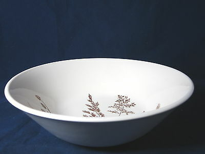 J&G MEAKIN - Windswept - Brown Wheat - ROUND SERVING BOWL - 43E