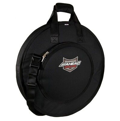 "Ahead AA6021 Armor Deluxe Cymbal Bag NEW! bag fits 24"" cymbals with dividers"