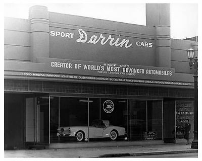 1955 Kaiser Darrin Dealer Showroom Factory Photo ub4137-5LLF2N