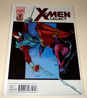 X-MEN LEGACY # 268  Marvel Comic  Aug 2012  NM  SPIDER-MAN VARIANT COVER EDITION