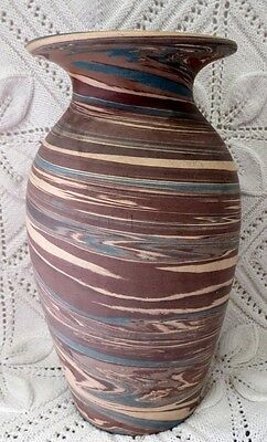Niloak Early 20Th Century Mission Swirl Vase