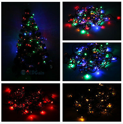 5xRGBY 110V 10M 100Leds 4W Fairy Light String for Wedding Christmas Tree Party