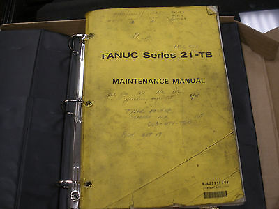 Fanuc Series 21-TB Maintenance Manual