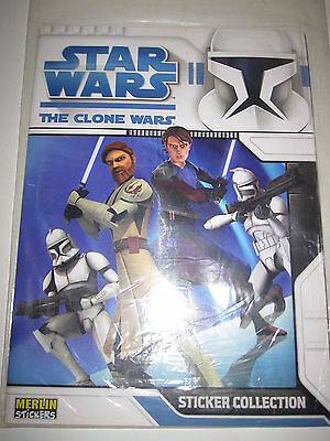 Star Wars The Clone Wars Dessin Anime Tv Show Mint Neuf Album Introuvable En Fr