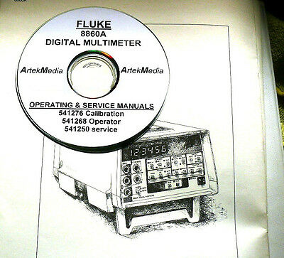 ULTIMATE FLUKE Operation Repair Service manual 580 PDF