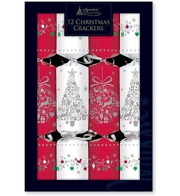 "12x12"" Family Christmas Crackers-Choice of 3 Tradtional or Contemporary Designs"