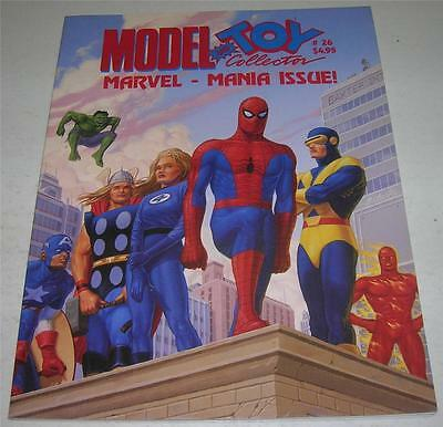 Model And Toy Collector Magazine #26 (1992) Marvelmania Issue! Spider-Man (Vf-)