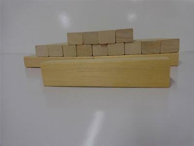 Setof 20 Carving Turning Blocks 1 1/4 X 1 1/4 X 5  Arts Woodworking Home Tb 20X5
