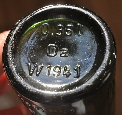 PC 1941 Germany WWII Era Scarce Beer Bottle DAB DORTMUNDER ACTIEN BRAUERAI