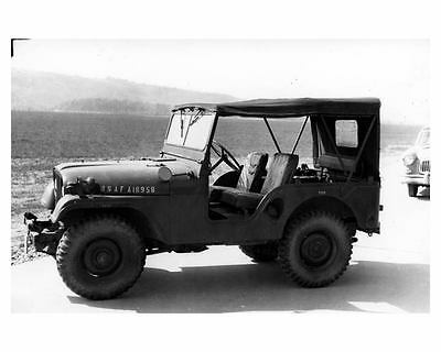 1954 Military Jeep M38A1 M38 USAF Photo c9530