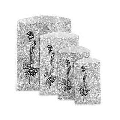Silver Metallic Printed Merchandise Bags Pack of 1000