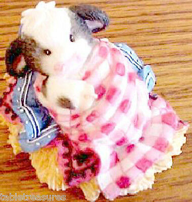 Mary's MOOS New Baby~Somebody Brand Moo~Baby Laying in Hay~MINT~new