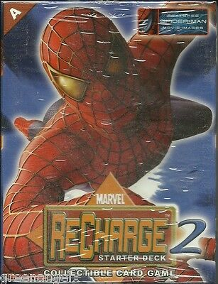 Marvel Recharge Ccg - Series 2 Starter Deck A