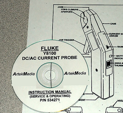 FLUKE Y8100  Current probe Instruction (Service & Operating) Manual