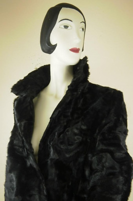 Persianer Fur Jacket 80er True Vintage Felljacke Damenjacke Felljacke Black 80s