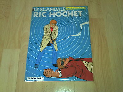 Ric Hochet Tome 33 Le Scandale Ric Hochet