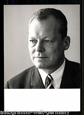 Willy Brandt (+1992) TOP AK 70er Jahre + 9870 OU