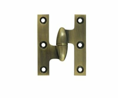 "Hinge Olive Knuckle Type 2-1/2""x 2"" Square Corner Leaves in 11 Finishes FPL Door"