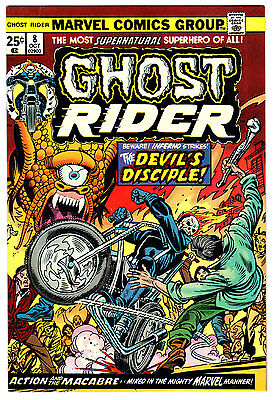 Ghost Rider #8 9.2 Cream Pages Bronze Age