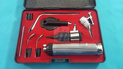 NEW Professional ENT NASAL OPHTHALMOSCOPE / OTOSCOPE DIAGNOSTIC SURGICAL Set