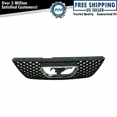 Grille Assembly Chrome Trim & Black for 99-04 Ford Mustang