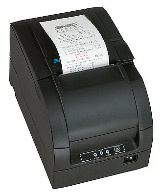 SNBC BTP-M300 Impact Kitchen Printer For SAM4s ECR's Auto Cutter Dark Gray