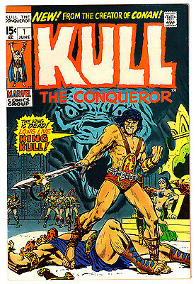 Kull #1 8.0 Off-White To White Pages Bronze Age Conan