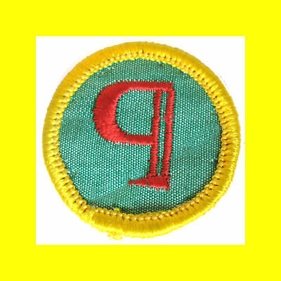 REPORTER Cadette Girl Scout NEW Badge RARE JOURNALIST Library Multi=1 Ship Chrg