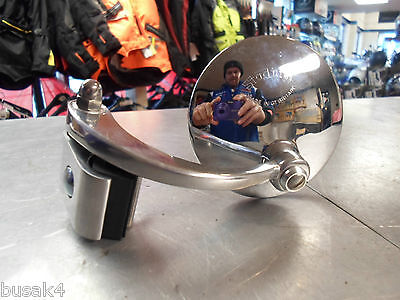 Stadium Halcyon 930 Clamp On Mirror British Made Stainless Classic Car Left Hand