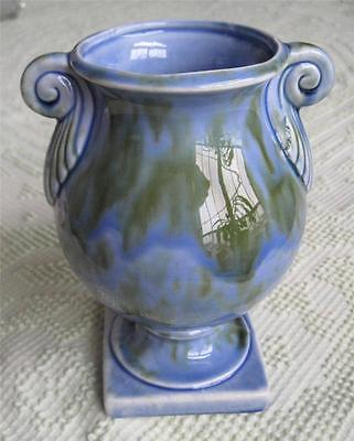 """1968-70 Stangl Pottery Caribbean Footed Grecian Urn 8"""" Vase #2041"""