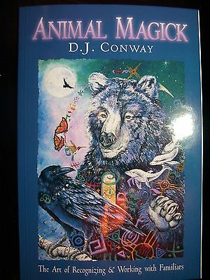 Brand New! Animal Magick Working With Familiars Healing Shapeshifting Rituals