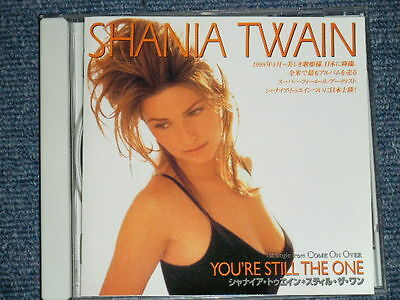 SHANIA TWAIN Japan 1998  PROMO ONLY NM CD YOU'RE STILL THE ONE