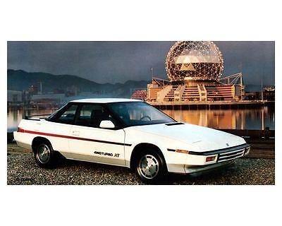 1986 Subaru XT Coupe Photo Poster zc8657