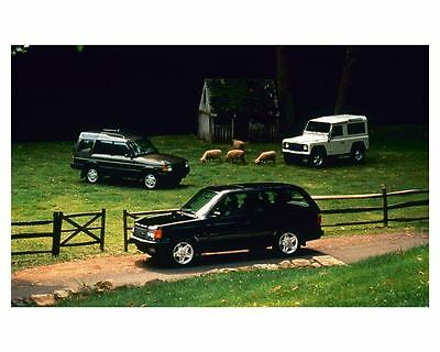 1997 Land Rover Photo Poster zc8725