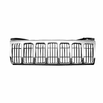 Grille Chrome w/ Black Bars for 08-10 Jeep Grand Cherokee