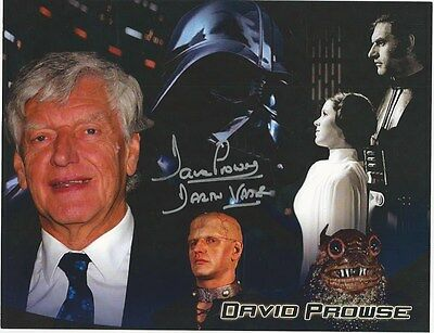 David Prowse - collage signed photo