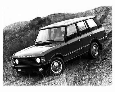 1989 Range Rover County Photo Poster zc8984