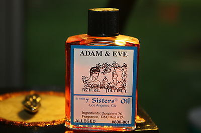 Adam and Eve Oil - 7 sisters- LOVE - Wicca, Witch