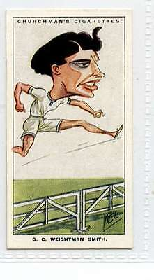 (Ji431-100)Churchman, Men Of The Moment In Sport ,Weightman Smith ,1928 #6