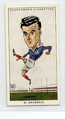 (Ji507-100)Churchman,Men Of The Moment In Sport, D. Drysdale  ,1928 #47