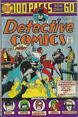 Detective Comics #443 (Dc) 1974 (100 Pages) Fine (6.0)