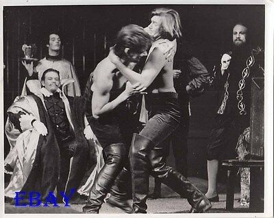 Barechested Men fight VINTAGE Photo As You Like It Shakespear