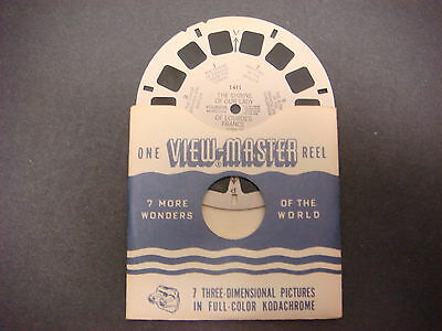 Sawyer's Viewmaster Reel,1953,The Shrine of Our Lady of Lourdes,France,1411